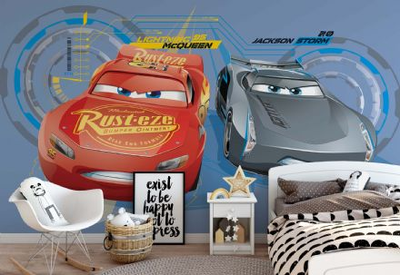 Children's room wallpaper Disney Cars